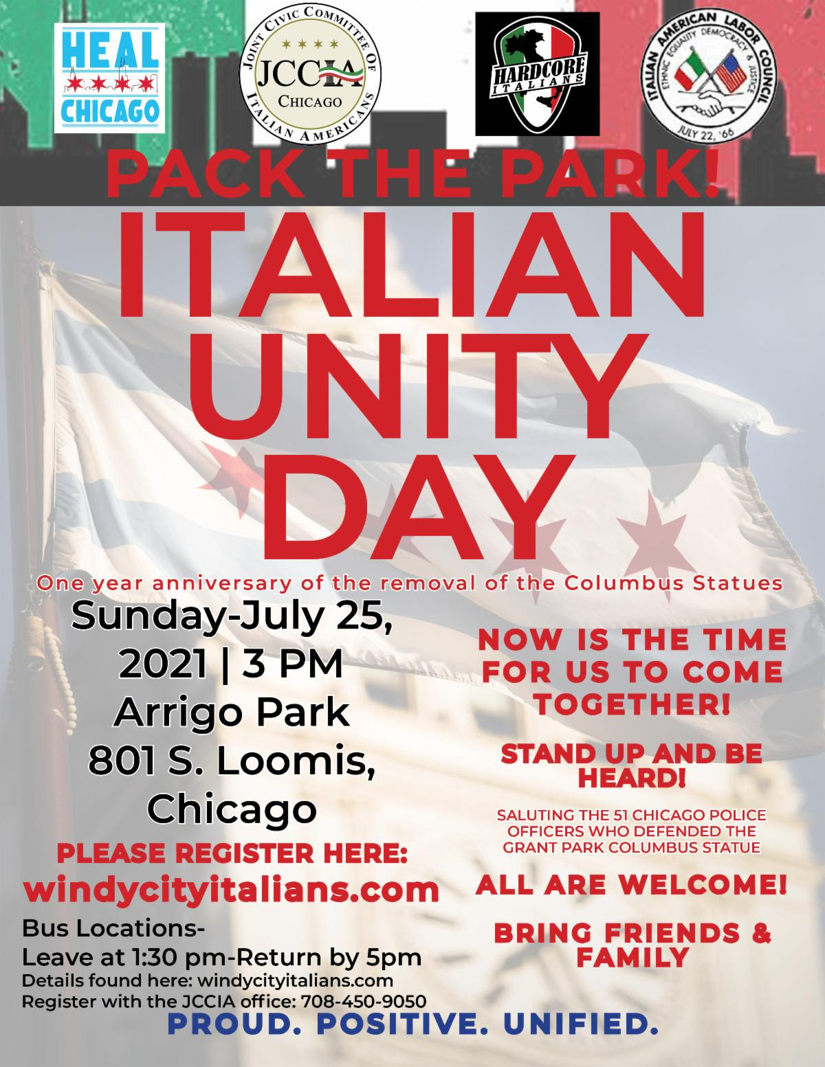 Pack the Park in Chicago on July 25!