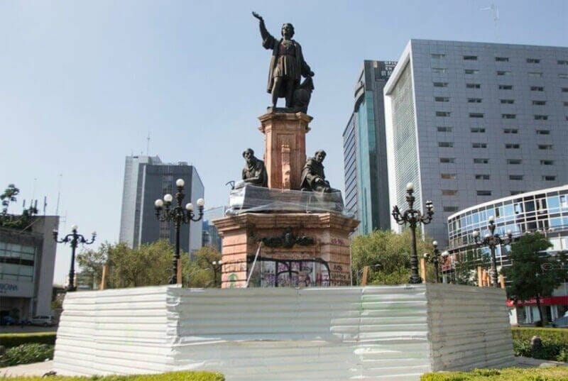 Restore Columbus statue, urges petition to Mexico City government